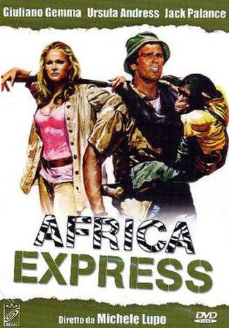 Africa Express - Image: Africa Express poster