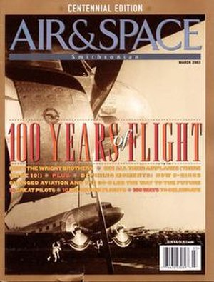 Air & Space/Smithsonian - Image: Air & Space magazine March 2003