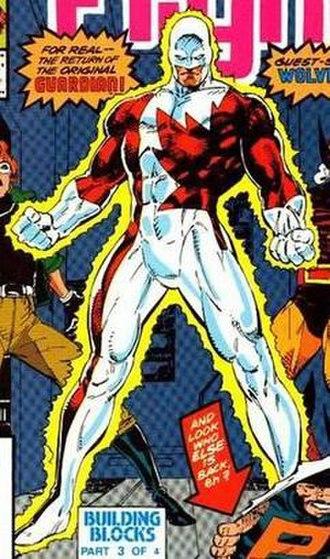 Guardian (Marvel Comics) - Image: Alpha flight 89 guardian