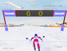 Screenshot of Alpine Racer