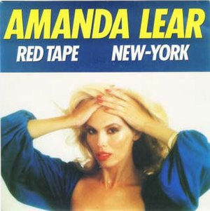 Red Tape (song) - Image: Amanda Lear Red Tape