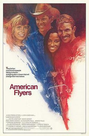 American Flyers - Theatrical release poster