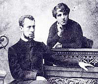 Nadezhda von Meck - Anna von Meck, Tchaikovsky's niece, with her husband Nikolai