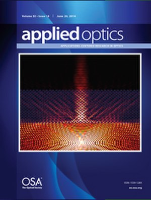 Applied Optics - Image: Applied Optics Journal Cover