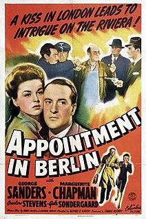 <i>Appointment in Berlin</i> 1943 film by Alfred E. Green
