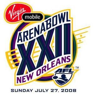 ArenaBowl XXII - Image: Arena Bowl 22