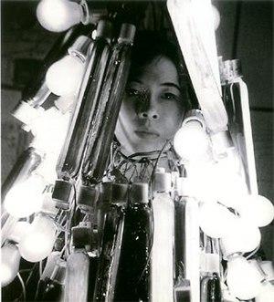 Atsuko Tanaka (artist) - Atsuko Tanaka in 1957, wearing her Electric Dress