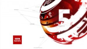 BBC News at Five - Image: BBC News at Five title