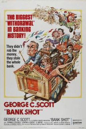 Bank Shot - film poster by Jack Davis