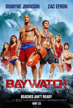 Baywatch (film) - Theatrical release poster