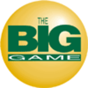 Mega Millions - The Big Game logo prior to the Mega Millions name change.