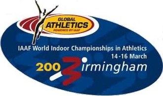 2003 IAAF World Indoor Championships - Image: Birmingham 2003 logo