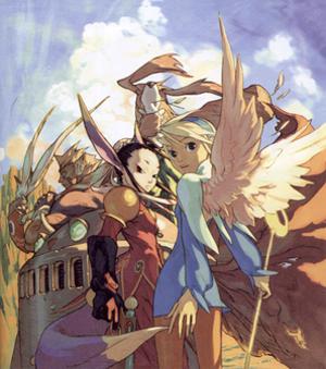 Breath of Fire IV - Tatsuya Yoshikawa's character designs for Breath of Fire IV