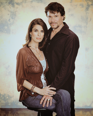 Bo Brady and Hope Williams - Peter Reckell and Kristian Alfonso as   Bo and Hope
