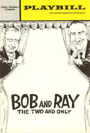Bob and Ray - Image: Bobrayplaybill