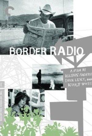 Border Radio - Image: Border Radio (film poster)