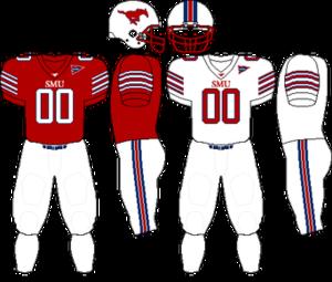 2009 SMU Mustangs football team - Image: C USA Uniform SMU 2009