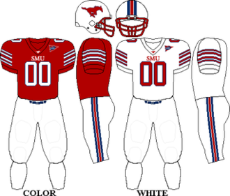 2009 SMU Mustangs football team - Image: C USA Uniform SMU 2009