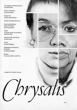 Chrysalis (magazine) - Cover of Volume 1, 1977