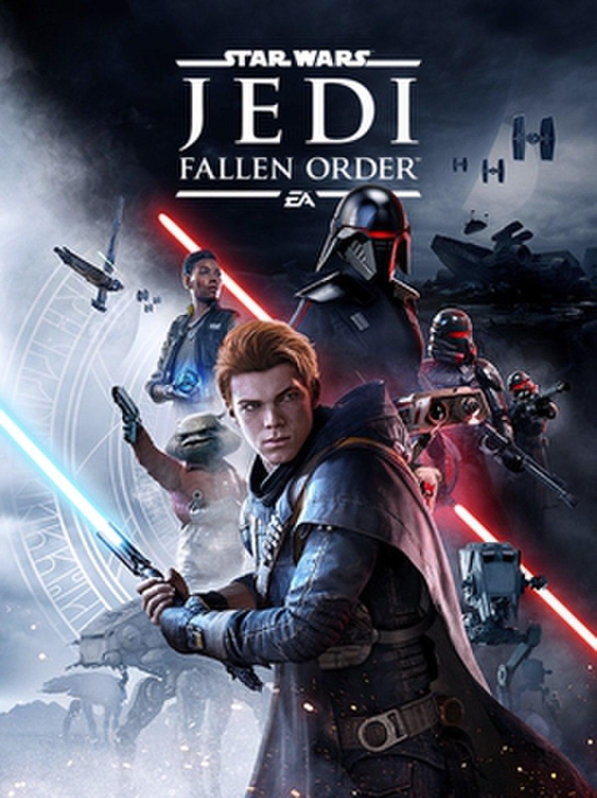 Resultado de imagen de Star Wars Jedi Fallen Order Cover