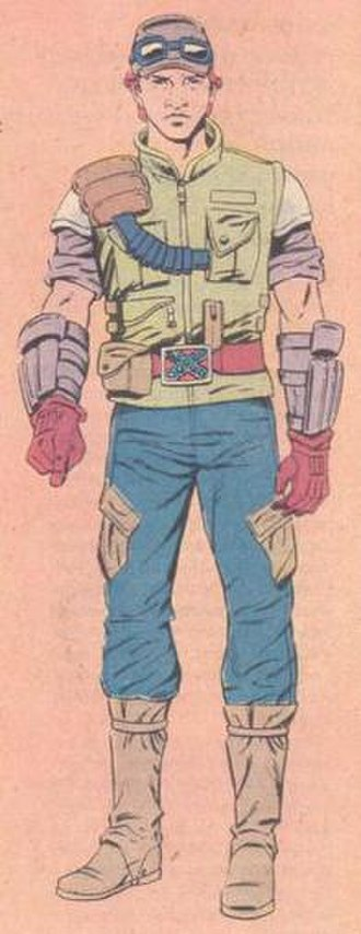 Cross-Country (G.I. Joe) - Illustration of Cross-Country from G.I. Joe: Order of Battle. Art by Herb Trimpe.