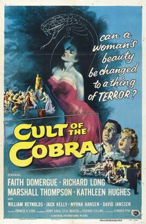 Cult of the Cobra - Theatrical release poster  by Reynold Brown