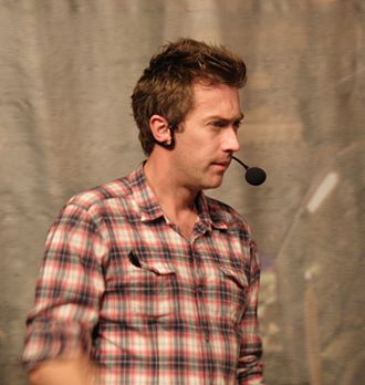 Dallas Campbell - Campbell at the 2009 Bang Goes the Theory Roadshow