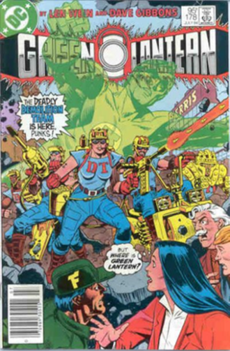 Demolition Team - The Demolition Team, art by Dave Gibbons