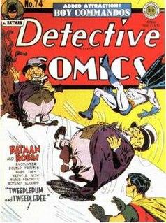 Tweedledum and Tweedledee (comics) DC Comics fictional characters