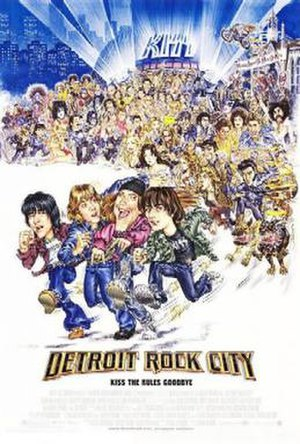 Detroit Rock City (film) - Theatrical release poster