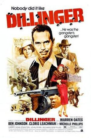 Dillinger (1973 film) - Promotional poster