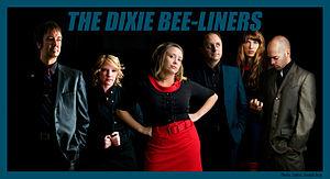 The Dixie Bee-Liners - The Dixie Bee-Liners in 2009; from left to right: Buddy Woodward, Rachel Johnson, Brandi Hart, Jeremy Darrow, Casey Henry, Robin Davis