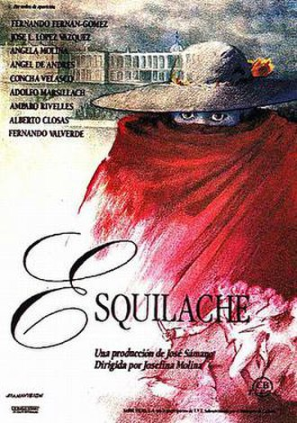Esquilache - Spanish film poster