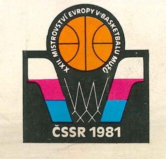 EuroBasket 1981 - Image: Euro Basket 1981 logo