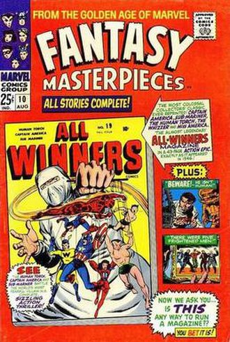 Marvel Super-Heroes (comics) - Image: Fantasy Masterpieces 10