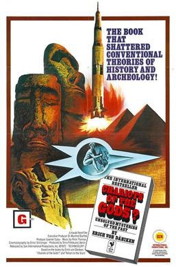 Film Poster for Chariots of the Gods