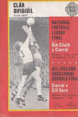 1976–77 National Football League (Ireland) - Image: Final 1976–77 National Football League (Ireland)