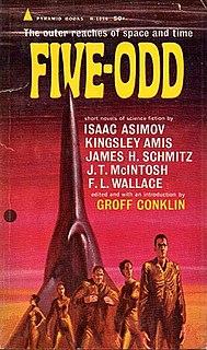 <i>Five-Odd</i> book by Isaac Asimov