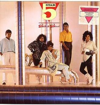 Silk & Steel (Five Star album) - Image: Five Star Silk Steel poste 240840