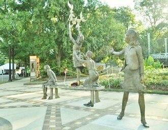 Kelly Ingram Park - The Four Spirits sculpture