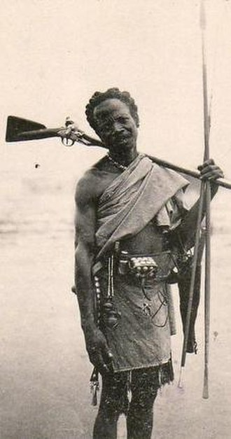 Malagasy Uprising - A nationalist fighter from the rural southeast.