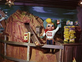 Frito-Lay - An animatronic vending machine of The Frito Kid at Disneyland's Casa De Fritos (currently Rancho Del Zocalo.