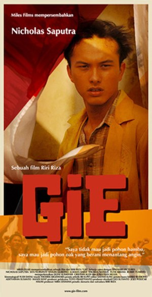 Gie - Theatrical poster for Gie