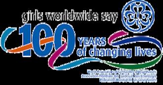 Guiding 2010 Centenary - Image: Girl Guiding and Girl Scouting 2010 Centenary