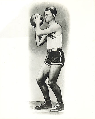 1935 NCAA Men's Basketball All-Americans - Glen Roberts was a Helms Foundation All-America selection at Emory and Henry.