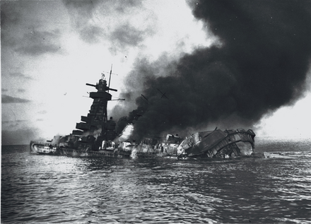 Admiral Graf Spee shortly after her scuttling Graf Spee scuttled.png