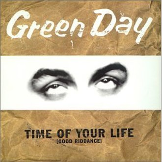 Good Riddance (Time of Your Life) - Image: Green Day Good Riddance (Time of Your Life) cover
