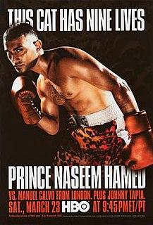 Naseem Hamed vs. Manuel Calvo