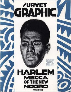 "Black mecca - ""Harlem, Mecca of the New Negro"", March 1925 issue of Survey Graphic"