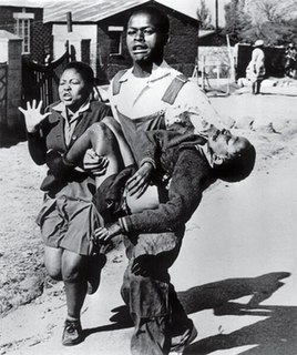 Soweto uprising 1976 student-led protests in South Africa that were violently suppressed